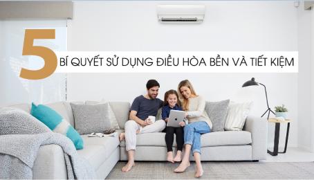 Bí quyết sử dụng điều hòa tiết kiệm cho gia đình