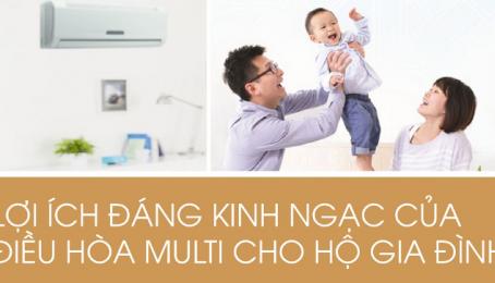 Lợi ích của điều hòa multi Daikin cho hộ gia đình