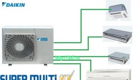 Giới thiệu hệ thống điều hòa Super Multi NX