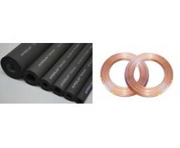 Ống đồng + 2 bảo ôn cho loại máy treo tường từ 24.000 - 30.000 BTU