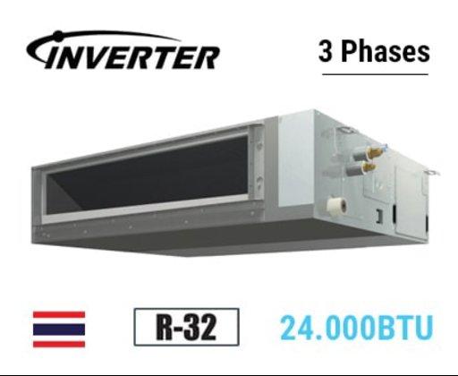 Điều hoà âm trần nối ống gió 1 chiều inverter 24.000 BTU FBFC71DVM9/RZFC71DVM, điều khiển dây điện 3 pha
