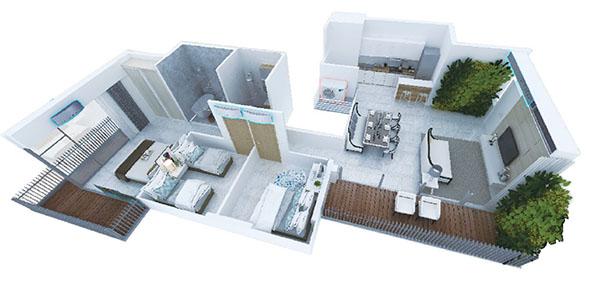 Biện pháp lắp điều hòa tối ưu cho căn hộ cao cấp