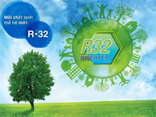 Gas R32 điều hoà Daikin